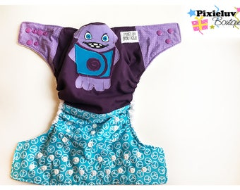 SALE! Oh from Home One Size Cloth Diaper, Pocket Diaper (Photoshoot)
