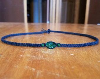 Mens Hemp Necklace for Men Mens Choker Necklace for Him Mens Black Necklace Mens Jewelry for Him Gifts for Him Jewelry for Men Gift for Men