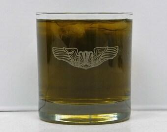 Pilot, Airline Pilot, Airline Pilots Glass, Airline pilot Gift, Pilot Gift, On The Rocks Glass, Airplane Pilot
