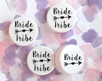 Bride Tribe Pink Lip Balm Gloss Wedding Favor Bachelorette Hen Party Present GIFT Idea Wedding UK Made #110LB
