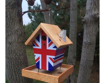 Union Jack Bird Feeder