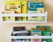 Set of 2 Kids Book Shelves - Shelving Organization - Home Decor - Playroom / Nursery