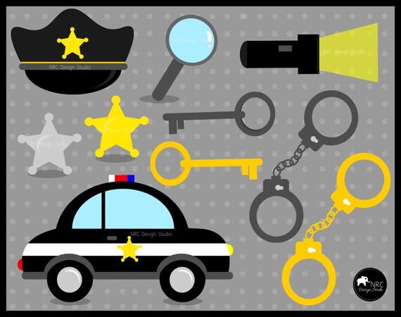 Police Officer Clip Art Policeman Clip Art By NRCDesignStudio