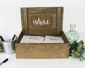 Wedding Advice Box