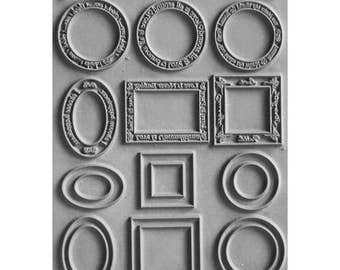 Framed texture stamp by Lisa Pavelka an Unmounted stamp great for polymer clay and other crafts