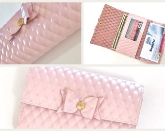 CHeck book holder wallet. Choose color