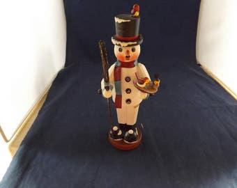 Detailed German Snowman Smoker