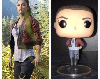 "Custom Funko Pop: Raven Reyes from ""The 100"""