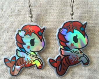 Tokidoki Mermicorno Earrings