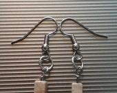 Brown Beaded Earrings 62