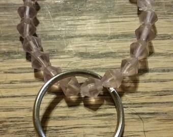 Pink Beaded Key Chain 41