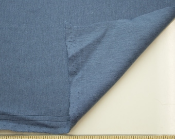 Blue Slate 60'' Medium-Weight Baby Rib Knit Fabric By the Yard 3113
