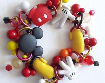 Mickey Mouse bracelet/ Disney/Beadiebracelet