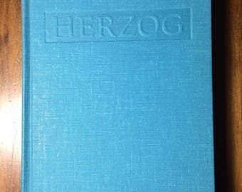 Herzog by Saul Bellow 1964 hardcover fourth printing The Viking Press, vintage books
