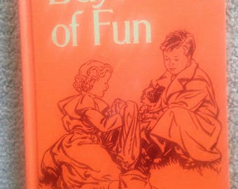 Days of Fun 1954 school beginning reading book