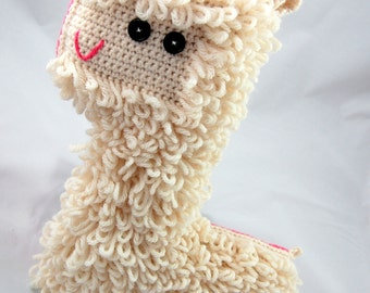 Crochet Llama ~ Stuffie ~ Stuffed Animal ~ Plushie ~ Alpaca