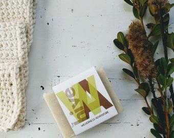 Wilderness Adventure Soap - Natural Soap, Vegan Soap, Handmade Soap, Cold Process Soap, Organic Soap