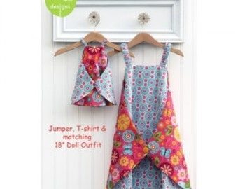 Olive Ann Designs Girls Dress Sewing Pattern - Daisy