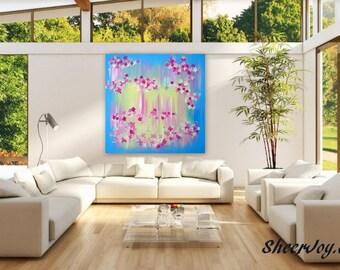 "huge painting, huge abstract art, huge wall art, huge canvas,big painting, big canvas, canvas wall art,art, paintings,REDUCED, sale, 36""x36"""