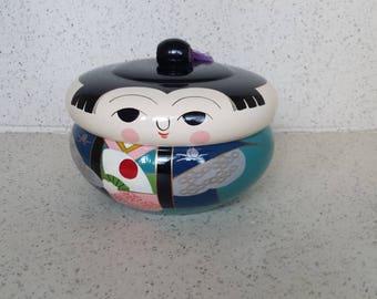 Lacquerware Geisha Box