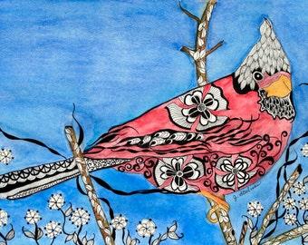 Callie Color Cardinal