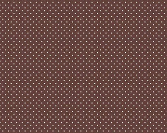 Swiss Dots - C670-90 Brown