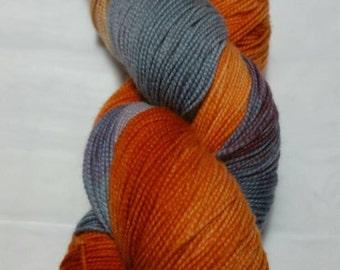 Two Hearted Hand Dyed Merino Sock Yarn