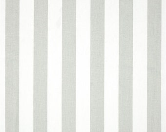 Custom Shower Curtain //  Premier Grey and White Stripe // Stall// Choose Size // Buttonholes// 72 x 72 // Extra Wide or Narrow