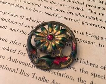 Vintage Enameled Pin