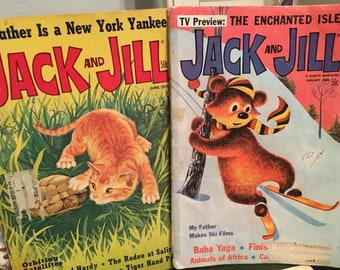 Jack and Jill magazine, vintage magazines, children's magazine