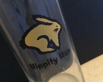 Juice glass, bunny, rabbit
