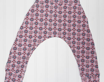 Harem Pants, Daisy Pinwheel, Baby and Kids Harem Pant Leggings