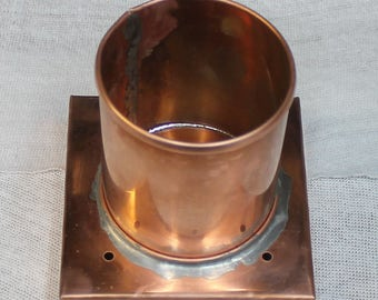 Copper Post Cap for Lantern