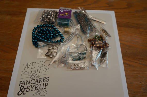 Basket Weaving Supplies Toronto : Jewellery making supplies crafting destash bags
