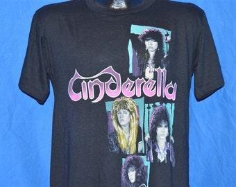 80s Cinderella Shakes Canada Tour t-shirt Medium