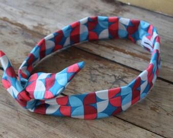 Retro - headband - node - patterns vintage headband