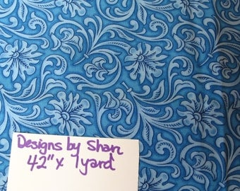 "Designs by Shan, fabric, cotton, sewing, supplies, quilting, 42"" x 1 yard (Shan)"