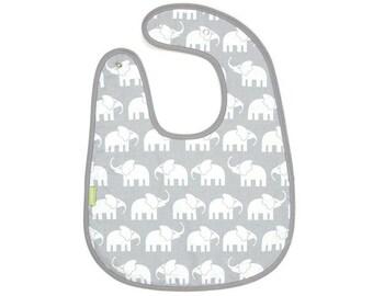 LUTZ bib elephant grey