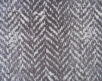 """Holly Hunt Great Plains """"EXOTIC SANDS"""" Printed Velvet Fabric 1.75 yards"""