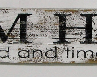 Farm House Sign/Fixer Upper Inspired/ 5 ft Reclaimed Large Wood Sign/Farm House Wall Decor