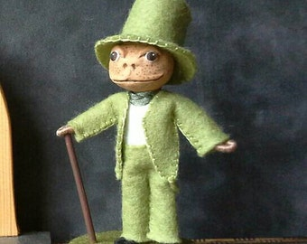 Art doll Mister Toad
