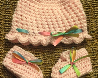 Pink  Baby Set