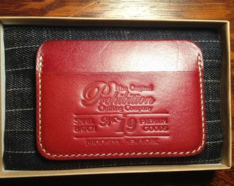 No.19 Vintage Cowhide Slim Wallet