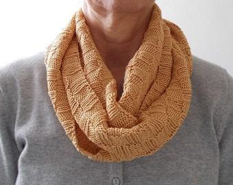 Scarf Endless Scarf Knit Pattern Knitting