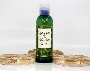 "Hydrophilic oil anti-acne ""Garlic"", anti-acne hydrophilic oil, anti-acne wash, anti-acne cleanser, oily skin wash, acne prone skin wash"