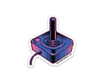 Stick in a Box Atari Sticker