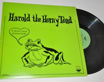 "Harold The Horny Toad - Ronnie Prophet - Comedy Spoken Word 12"" Vintage Vinyl Record"