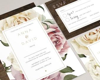 Anna wedding invitation collection