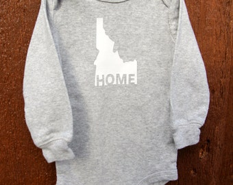 "Idaho ""HOME"" Onesie"