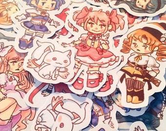 Madoka Magica Sticker Pack